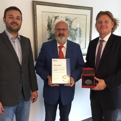 Bronze Medaille - VBG Arbeitsschutzpreis 2016